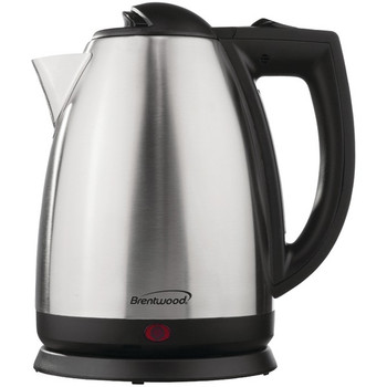 Stainless Steel Electric Cordless Tea Kettle (2-Liter)