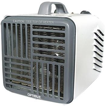 3-Speed 750-Watt/1,500-Watt Portable Mini Heater with Thermostat