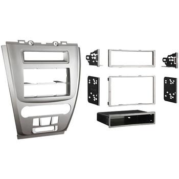 Multi Installation Kit for Ford(R) Fusion/Mercury(R) Milan 2010 through 2011, Silver Bezel