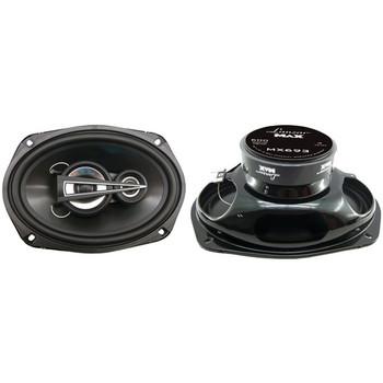 """MAX Series 3-Way Triaxial Speakers (6"""" x 9"""", 600 Watts)"""