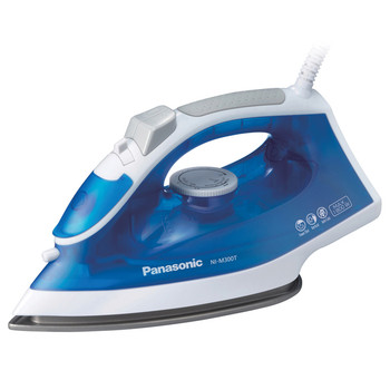 1,500-Watt Steam-Circulating Iron with Curved Nonstick Titanium-Coated Soleplate