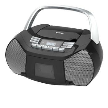 Portable CD Cassette Boombox