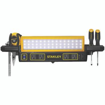 1,000-Lumen Workbench Shop Light with Power Strip
