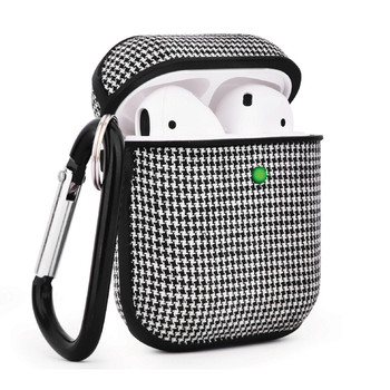Decorative Sleeve for AirPods(R) Charging Case (Houndstooth Pattern/Fabric)