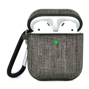 Decorative Sleeve for AirPods(R) Charging Case (Tweed Pattern/Fabric)