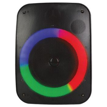 Sound Pro 4-Inch 1,000-Watt Portable Bluetooth(R) Speaker and Circular Disco Lights