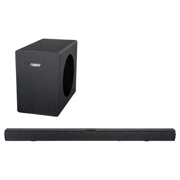 40-Watt 37-Inch Bluetooth(R) Sound Bar and Wireless Subwoofer Home Theater System