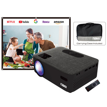 NVP-2001C 150-Inch Home Theater LCD Projector Combo with Bluetooth(R)