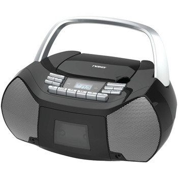 Portable CD/Cassette Boom Box