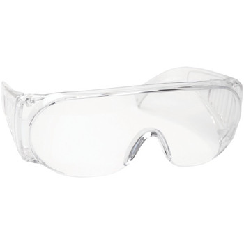 Clear Wraparound Shooting Glasses