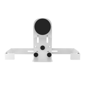 Magnetic Speaker Holder for Premium Locking Wall Mount and Mobile Floor Stands (White)