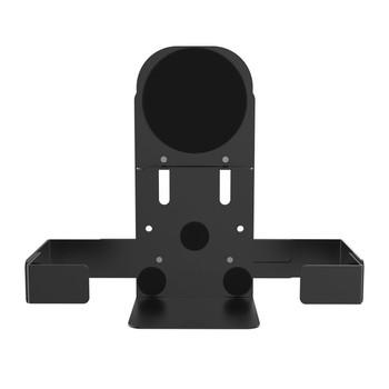 Magnetic Speaker Holder for Premium Locking Wall Mount and Mobile Floor Stands (Black)