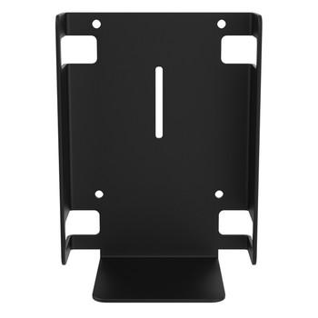 Metal Sanitizer Bottle Holder for Mobile Floor Stands (Black)