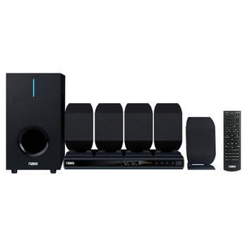 5.1-Channel High-Powered Home Theater DVD and Karaoke Speaker System