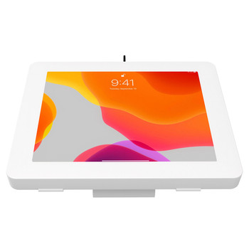 Tablet Stand and Wall Mount with Paragon Enclosures (White)