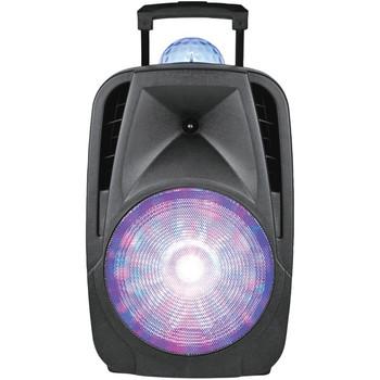 12-Inch Light-Up Portable Bluetooth(R) DJ Speaker with Disco Light