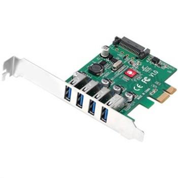 DP USB 3.0 4 Port PCIe Card
