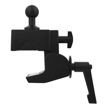 Custom Flex Security Enclosure Desk Clamp Mount with Paragon Enclosure for 7-Inch to 14-Inch Tablets