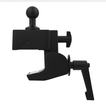 Custom Flex Security Desk Clamp Mount with Tri-Grip Holder for 7-Inch to 14-Inch Tablets