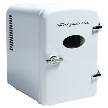 .5-Cubic-Foot Retro Portable Mini Fridge (White)
