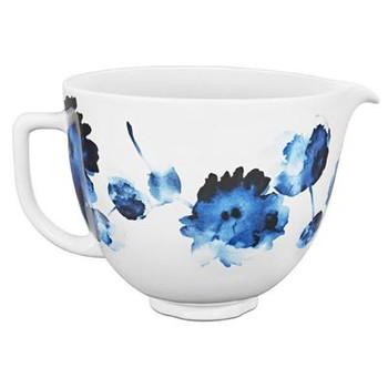 Ceramic Bowl 5qt Inkwatercolor