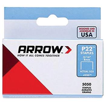 P22(TM) Plier Staples, 5,050 pack (5/16 Inches)