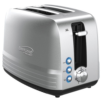 850-Watt Extra-Wide Slot 2-Slice Stainless Steel Toaster