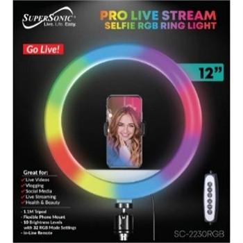 "12"" RGB Pro Live Stream Selfie"