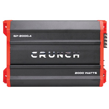 Ground Pounder Amp (4 Channels, 2,000 Watts, Class AB)