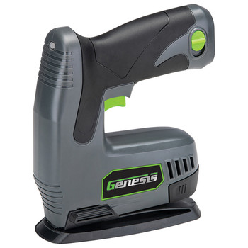 8-Volt Li-Ion Cordless Electric Stapler/Nailer with Battery Pack, Charger, Staples, and Nails