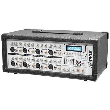 8-Channel 800-Watt Bluetooth(R) Audio Mixer