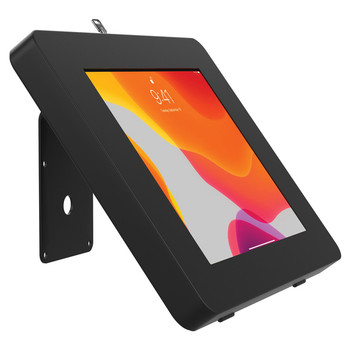 VESA(R)-Compatible Curved Stand and Wall Mount for CTA Digital(R) Paragon Tablet Enclosures and other Device Cases (Black)