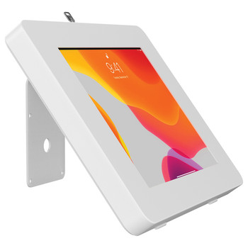 VESA(R)-Compatible Curved Stand and Wall Mount for CTA Digital(R) Paragon Tablet Enclosures and other Device Cases (White)