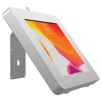 VESA(R)-Compatible Curved Stand and Wall Mount for CTA Digital(R) Paragon Tablet Enclosures and other Device Cases (Silver)