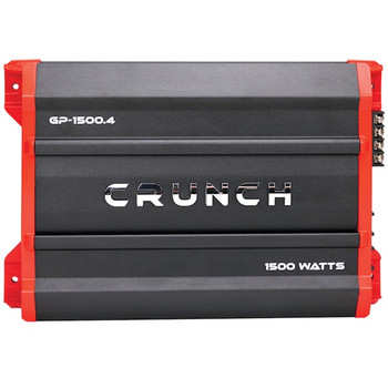 Ground Pounder Amp (4 Channels, 1,500 Watts, Class AB)