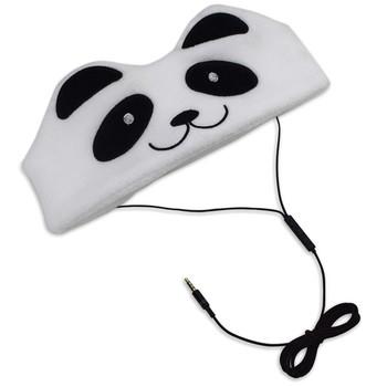 H1 Kid's Fleece Headphones (Panda)