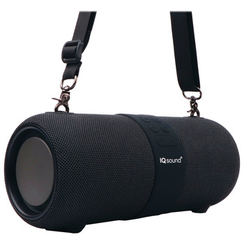 IQ-2323BT Dual 3-Inch 14-Watt Portable True Wireless Stereo Bluetooth(R) Rechargeable Speaker with FM Radio, Microphone, and RGB Lights