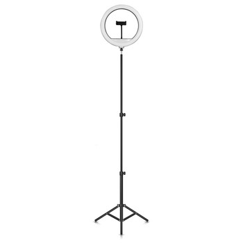 PRO Live Stream 14-Inch 224-LED Selfie Ring Light with Floor Stand