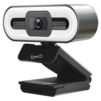 Pro HD Webcam with Ring Light