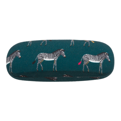 Zebra Glasses Case