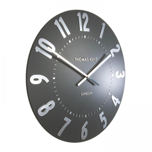 "Mulberry 20"" Clock Graphite"