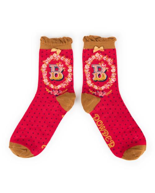 Ladies B Ankle Socks