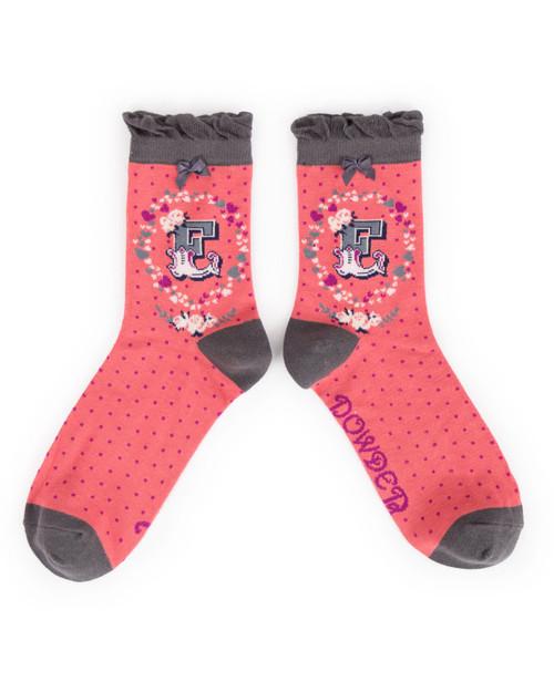Ladies E Ankle Socks
