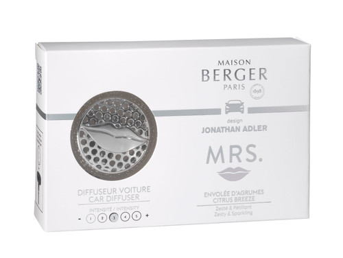 Jonathan Adler MRS Car Diffuser Kit Box