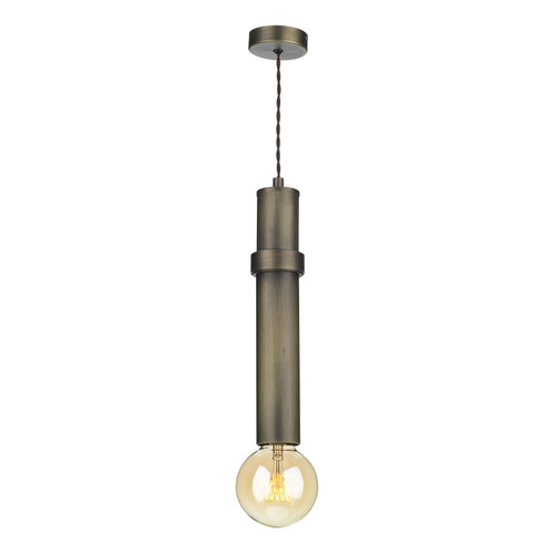 Adling 1 Light Pendant In Ant Brass