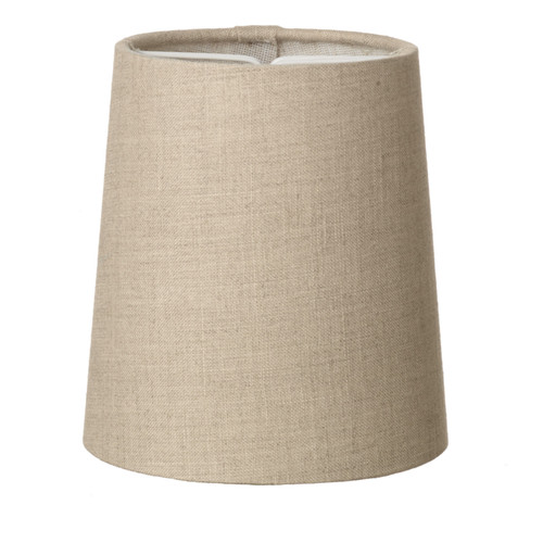 Byron Candle Clip Shade Linen