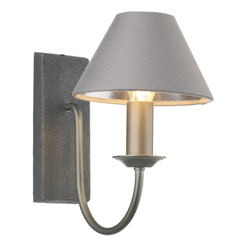 Herriot Single Wall Light In Pewter