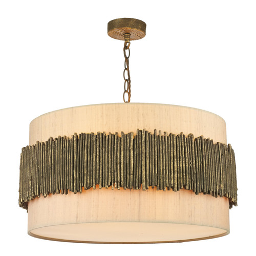 Willow 4 Light Pendant Comes With Bespoke Shades
