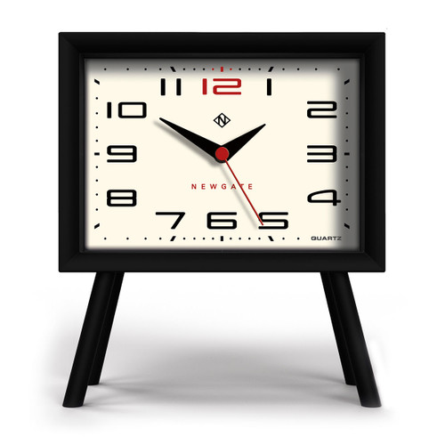 Newgate world, Henry Mantel Clock Neutral Mono II Dial