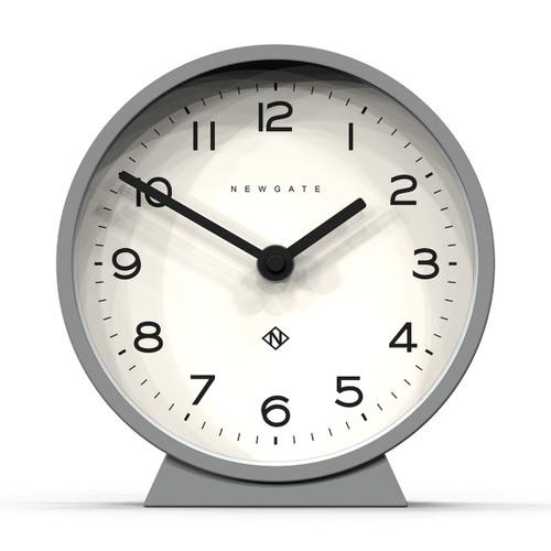 Newgate world, M Mantel clock posh grey